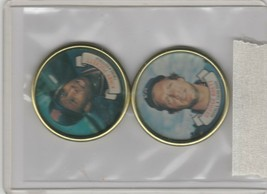 1987 Topps Coins Royals Twins George Brett Kirby Puckett - $1.80