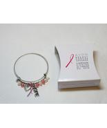 Femmes Avon Cancer Du Sein Crusade Breloque Bracelet F3983781 Nip - $13.36