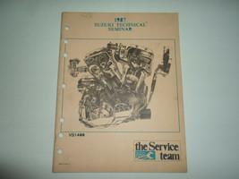 1987 Suzuki VS1400 Technical Seminar Manual Factory Oem Book 87 - $54.69