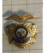California Police Hat Badge Obsolete - $180.00
