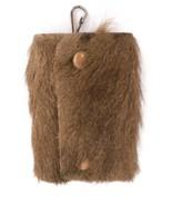 Vintage Kangaroo Fur Key Fob Keeper Made in Australia - $19.99