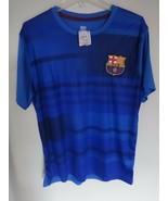 NWT FC Barcelona FC Futbol Soccer Jersey Men Large Official Licensed Pro... - $30.10