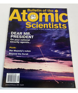 Bulletin of the Atomic Scientists Magazine January/February 2001 Kursk N... - $10.85