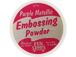 Stampendous Embossing Powder Purple Metallic #EP15 image 2