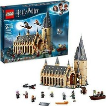 LEGO Harry Potter Hogwarts Great Hall 75954 Building Kit and Magic Castl... - $136.40