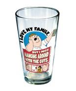 Family Guy Peter Hanging Around w/ The Guys Pint Glass NEW UNUSED - $8.79