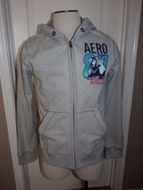 NWT Aeropostale California Surf Men M Gray Hoodie Sweat Jacket - $35.99
