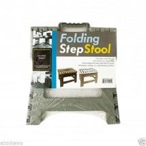 200 Lb. Capacity Multi-Purpose Folding Step Stool - £13.67 GBP