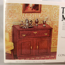 House Of Miniatures Hutch Cabinet, New Old Stock Model 40002 - $7.90