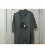 Marks and Spencer Blue Harbour Striped Men Polo Shirt - PRICE REDUCED! - $13.99