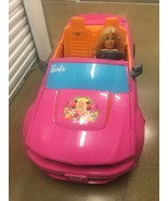 POWER WHEELS BARBIE FORD MUSTANG CONVERTABLE ELECTRIC CAR RARE - $495.00