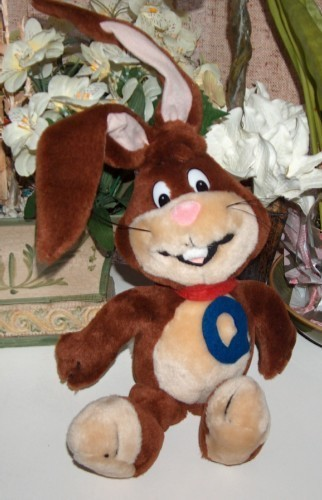 Nestle quick bunny plush