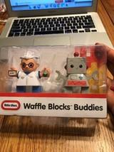 Little Tikes Waffle Blocks Buddies Scientist Robot Ships N 24h - $11.86