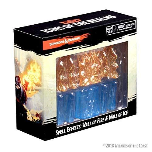 Primary image for WizKids Dungeons & Dragons Spell Effects: Wall of Fire and Wall of Ice (WK73107)
