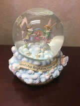 San Francisco Music Box Friendship Brightens Our World Snowglobe Music Box - $24.75
