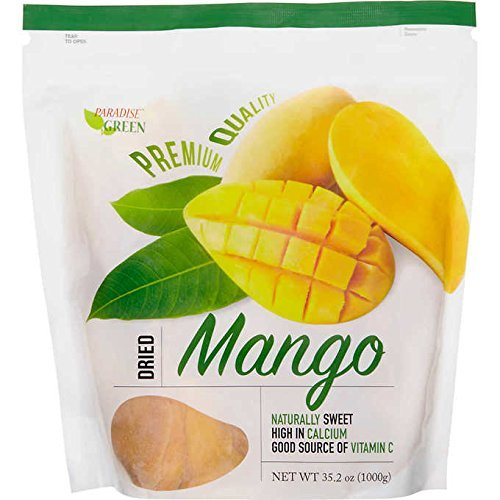 Primary image for Paradise Green Mango Premium Quality Wt. 35.2 Oz