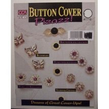 Button Cover Pizazz Jewelry Craft Book [Unknown Binding] - $9.94
