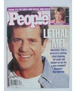 People Magazine 1998 July 27 Mel Gibson Martha Stewart Judge Judy N Irel... - $11.99