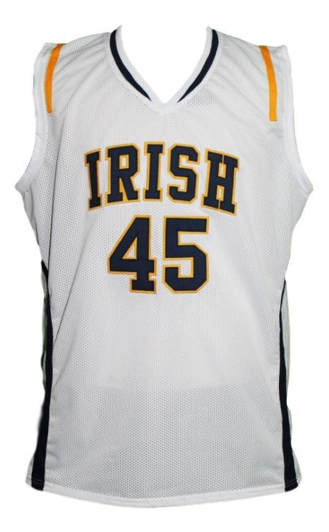 Jack cooley  45 college basketball jersey white   1