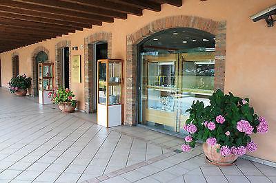 BRACCIALE IN ORO GIALLO 18K 750 CORALLO ROSA NATURALE A FIORE MADE IN ITALY