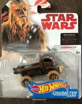 Hot Wheels Character Cars Star Wars CHEWBACCA 2017 NEW - $9.75