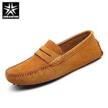Me Shoes 2018 Loafers Men Shoes Men Leather Casual Slip Men On Fashion Moccasins R4qZxZ7w