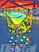Digital download drink pub cocktail whiskey vodka Wallpaper Painting Wat... - $3.00