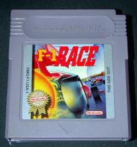 Nintendo GAME BOY - F-1 RACE (Game Only) - $10.00
