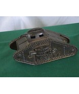 Army tank 1918 Cast Iron Bank Williams Co Vintage 1920 - £149.13 GBP