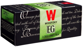 Wissotzky Tea Lord Grey Tea KP, 25  tea bags  - $8.75
