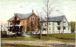 The Old Folks Home Elmira New York Vintage Post Card - $6.00