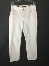 Women's Jeans Talbots White Flawless Five Pocket Petites Size 12P New Tags NWT  - $25.73