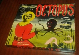 1954 Norton Games- Octopus Board Game -Complete Beautiful Condition VERY... - $495.00