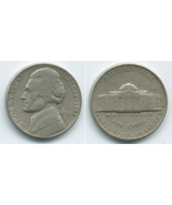 N85 - 1951 S Jefferson Nickel - £1.18 GBP