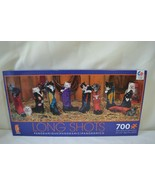 "Long Shots Panoramic 700 Piece Puzzle Kittens Cats Cowboy Boots 34"" x 12... - $19.99"
