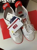 ASICS Onitsuka Tiger Street Fighter Chun Li Shoes Sneakers Red NIB Size 7  image 2