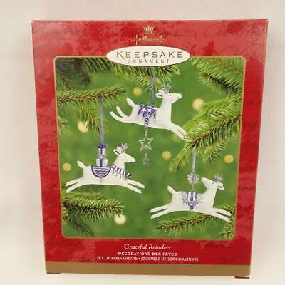Primary image for Hallmark Keepsake Ornament 2001 Graceful Reindeer Christmas Ornament
