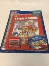 Fisher Price PowerTouch Learning System Book & Cartridge Rescue Heroes Storm War - $14.89