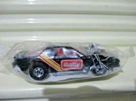 Mattel Hot Wheels 1990 Getty Gas Promo Black 1974 Blown Camaro Car Nu In Polybag - $6.92