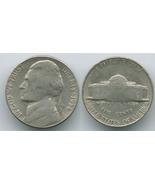 N88 - 1954 S Jefferson Nickel - £0.36 GBP