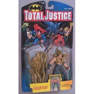 DC Comics Total Justice Hawkman action figure