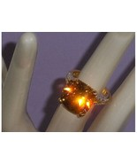 Technibond Champaign Square CZ Ring Size 7 - $49.97