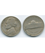 N106 - 1951 S Jefferson Nickel - €0,79 EUR