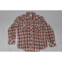 Vintage Womens Capin's LS Western Pearl Snap Shirt Size Large / XL Plaid... - $48.99