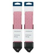 2 Pack Insignia Digital Camera Strap PINK Soft Plush Cushion DSLR SLR Ad... - $9.85