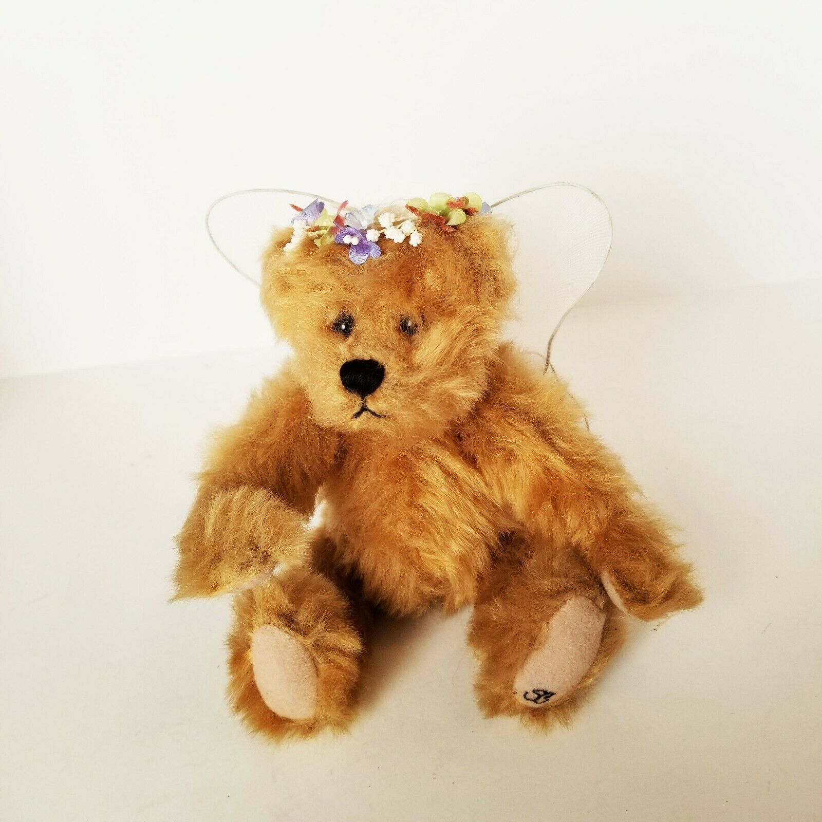 Primary image for Ganz Retired Cottage Collectibles Christine Angel Teddy Bear EUC Fully Jointed