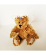 Ganz Retired Cottage Collectibles Christine Angel Teddy Bear EUC Fully J... - $24.07