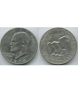 ED16 - 1974 Eisenhower Dollar - $2.29