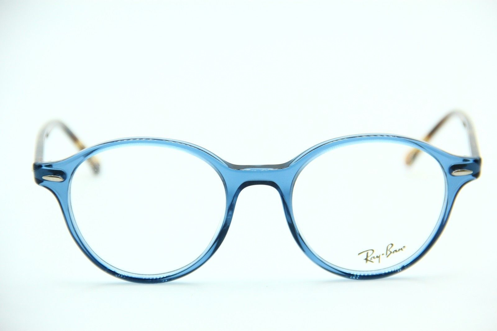 cc32ccdba2 NEW RAY-BAN RB 7118 8022 BLUE EYEGLASSES AUTHENTIC RX RB7118 50-19