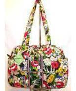 Vera Bradley Baby Diaper Bag Tote Poppy Fields NWT - $78.00